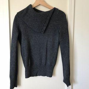 GAP Gray Wool Sweater